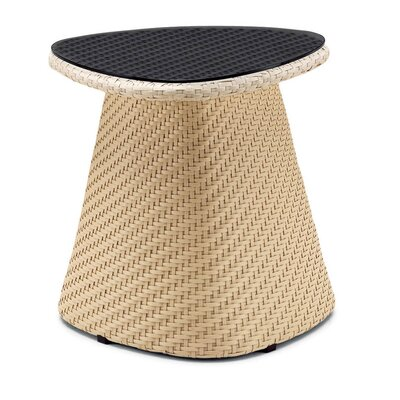 Circle Side Table Finish: Chocolate