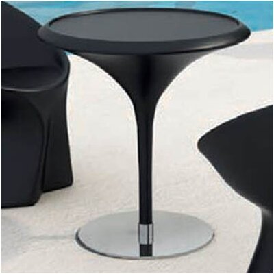 Trendy Bistro Table Finish: Black