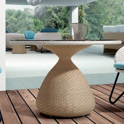 Circle Dining Table Finish: Brown