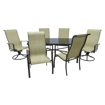 Outdoor Innovation Pacifica 7 Piece Dining Set