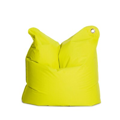 The Bull Medium Bean Bag Chair Upholstery: Lime Green