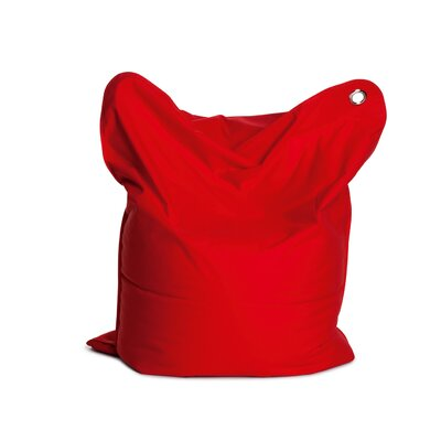 Mini Bull Bean Bag Chair Upholstery: Flame Red