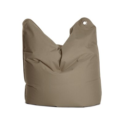 The Bull Medium Bean Bag Chair Upholstery: Grey Brown