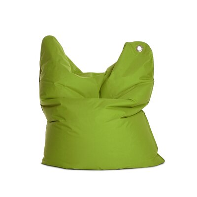 The Bull Medium Bean Bag Chair Upholstery: Green