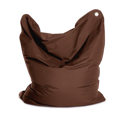 The Bull Bean Bag Chair Upholstery: Dark Brown