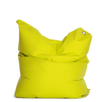 The Bull Bean Bag Chair Upholstery: Lime Green