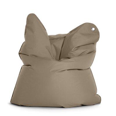 The Bull Bean Bag Chair Upholstery: Grey Brown