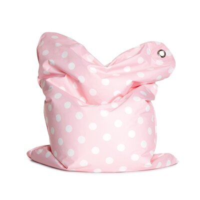 Fashion Mini Bean Bag Chair Upholstery: Bebe Pink