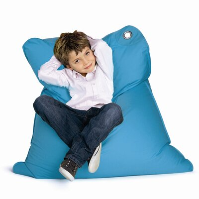 Mini Bull Bean Bag Chair Upholstery: Sky Blue