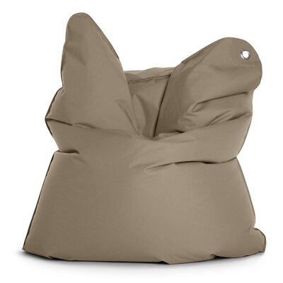 Outdoor Bull Bean Bag Chair Upholstery: Grey Brown