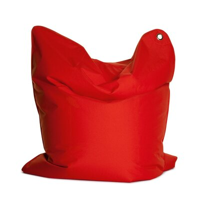 Outdoor Bull Bean Bag Chair Upholstery: Red