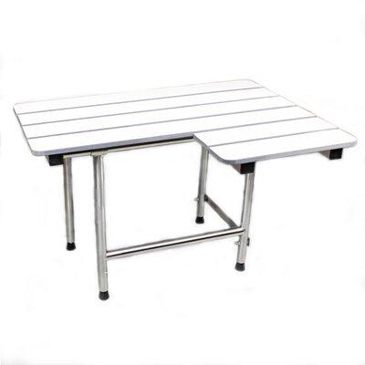 Folding Shower Seat and Grab Bar Set