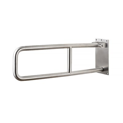 Flip Up Grab Bar Finish: Peened Stainless Steel
