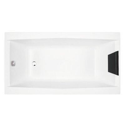 Eden 59 x 27.5 Soaking Bathtub