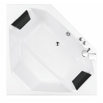 Eden 59 x 59 Whirlpool Bathtub