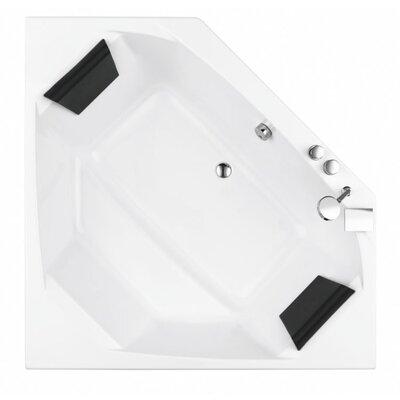 Eden 59 x 59 Whirlpool Bathtub