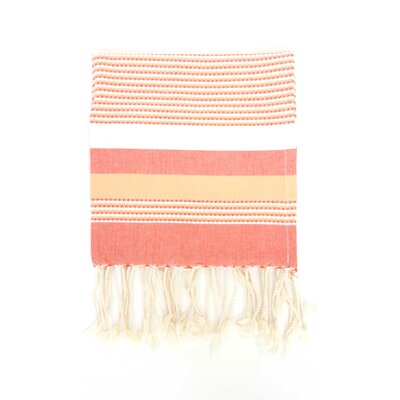 Fouta Ibiza Bath Sheet Color: Orange