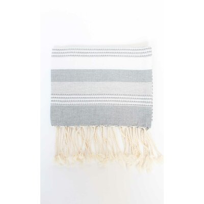 Sanders Hand Towel (Set of 2) Color: Grey