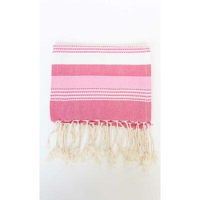 Sanders Hand Towel (Set of 2) Color: Fushia