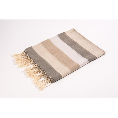 Fouta Light Weight Bath Towel Color: Beige