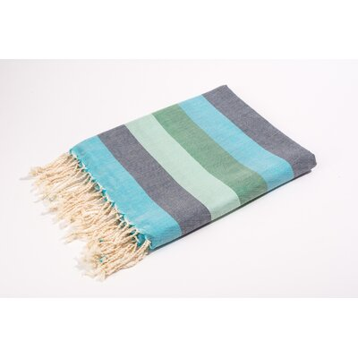Fouta Light Weight Bath Towel Color: Blue
