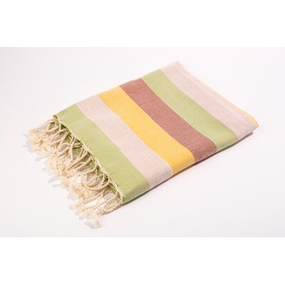 Fouta Light Weight Bath Towel Color: Orange