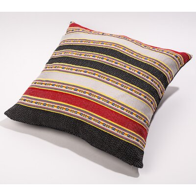 Throw Pillow Cover Color: Black