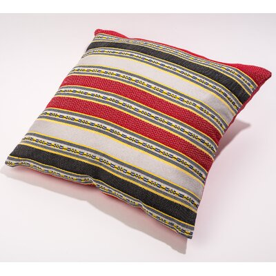 Throw Pillow Cover Color: Red