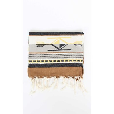 Boho Guest Hand Towel (Set of 2) Color: Beige/Yellow