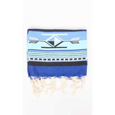 Boho Guest Hand Towel (Set of 2) Color: Blue/Azur