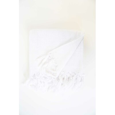 Guest Hand Towel (Set of 2) Color: White