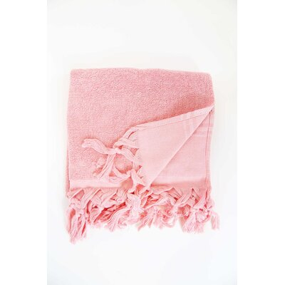 Guest Hand Towel (Set of 2) Color: Strawberry