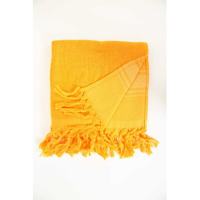 Guest Hand Towel (Set of 2) Color: Orange