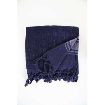 Guest Hand Towel (Set of 2) Color: Navy