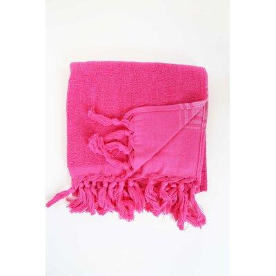 Guest Hand Towel (Set of 2) Color: Fushia