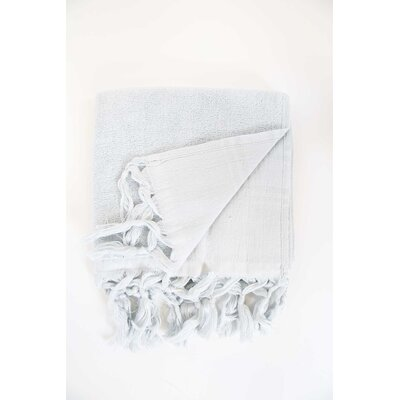 Guest Hand Towel (Set of 2) Color: Pearl Gray