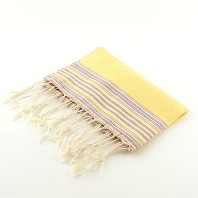 Guest Towel Positive Negative Hand Towel (Set of 2) Color: Yellow/Lilac