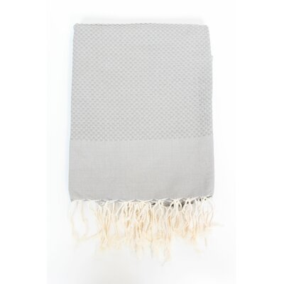 Sumner Solid Honeycomb Bath Towel Color: Mink