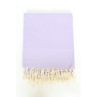 Veedersburg Solid Honeycomb Bath Towel Color: Parme