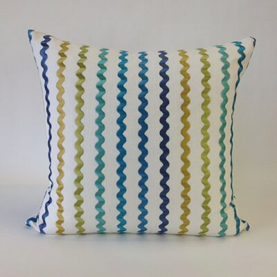 Still Water Throw Pillow Color: Isle Water