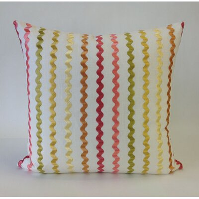 Still Water Throw Pillow Color: Coral Pink