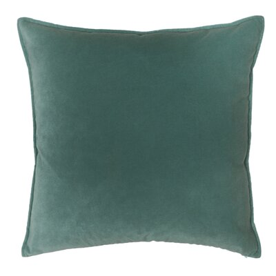 Franklin Velvet Throw Pillow Color: Whirlpool