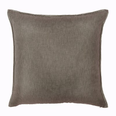 Bedford Throw Pillow Color: Smoke
