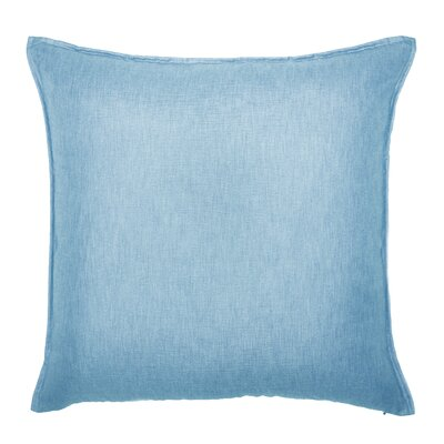 Bedford Throw Pillow Color: Sky Blue
