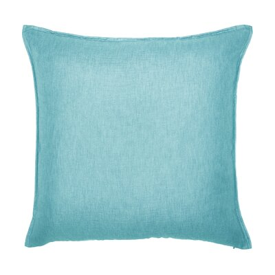 Bedford Throw Pillow Color: Aqua