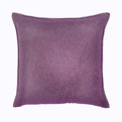 Bedford Throw Pillow Color: Hyacinth