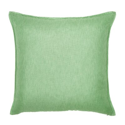 Bedford Throw Pillow Color: Pistachio