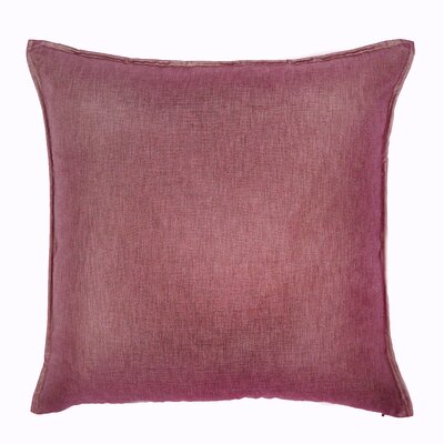 Bedford Throw Pillow Color: Rouge