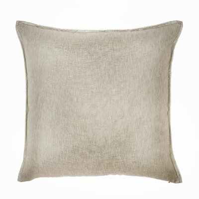 Bedford Throw Pillow Color: Flax