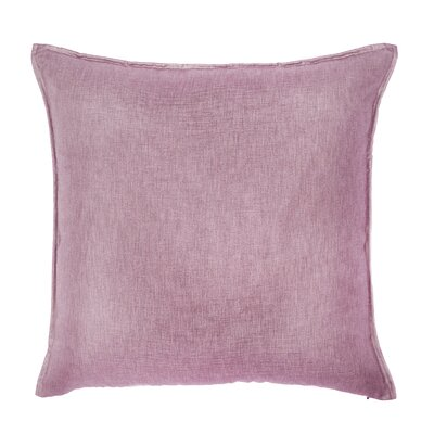 Bedford Throw Pillow Color: Pink Sand